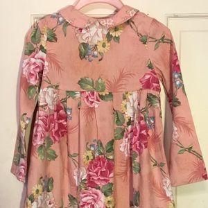 Vintage Pattern, Floral Dress by Baby Lulu; USA